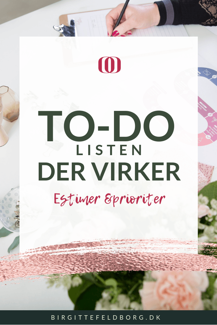 To-do listen der virker