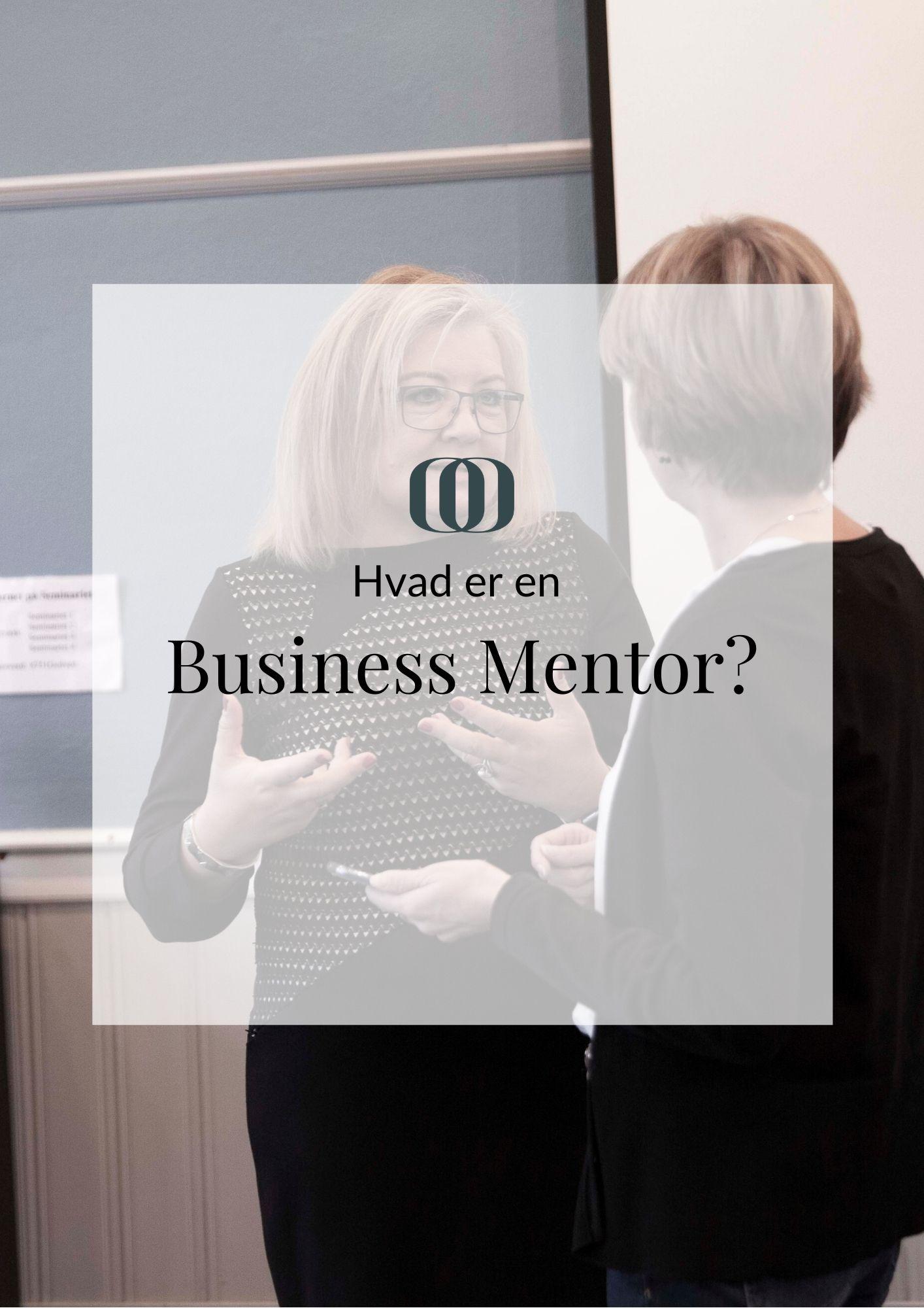 Hvad er en business mentor?