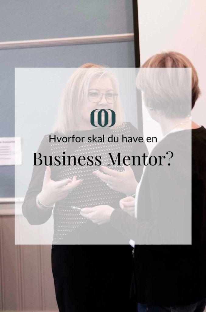 Hvorfor skal du have en business mentor?