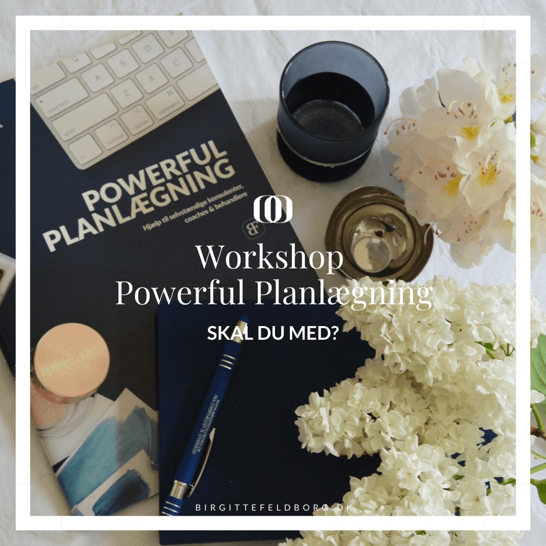 Workshop Powerful Planlægning