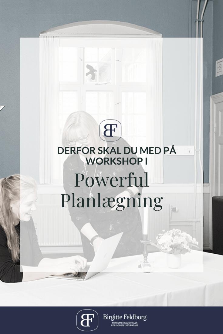 Derfor skal du med på workshop i Powerful Planlægning (2)